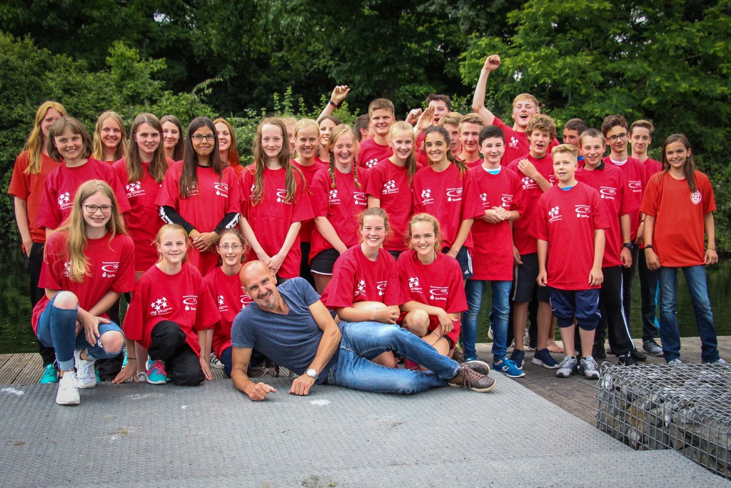 Ratsgymnasium Landesmeisterschaften Kanu 2016 in Duisburg Wedau