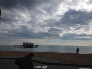Alter Konkurent des Brighton Palace Piers, der West Pier.