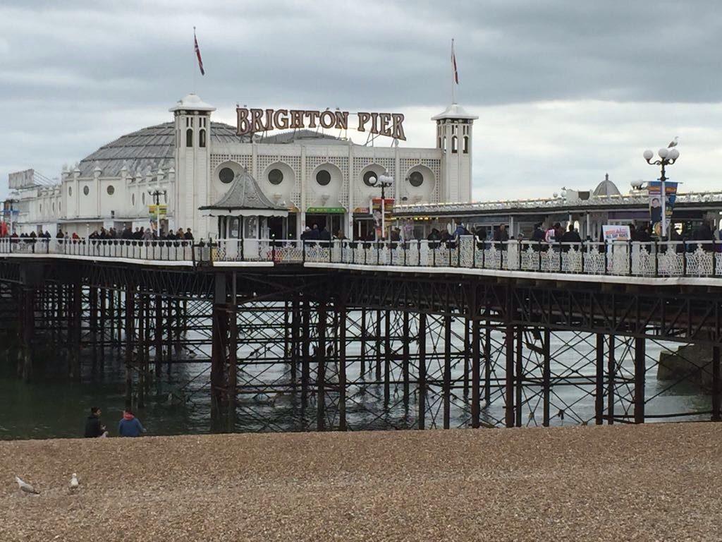 Kirmes auf dem Wasser, der Brighton Palace Pier. Foto: Lena F.
