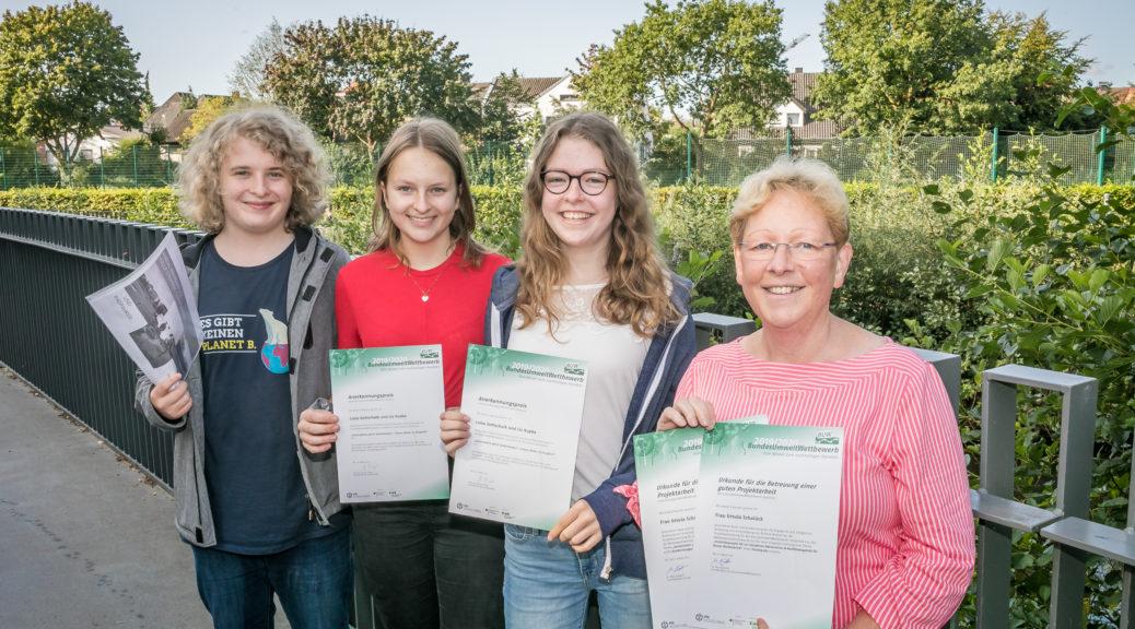 Ratsgymnasium Rheda-Wiedenbrück Bundesumweltwettbewerb 2020